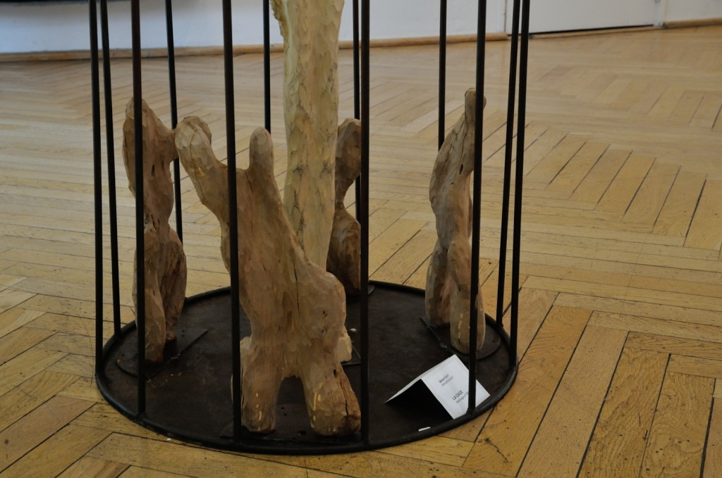La cage (détail)